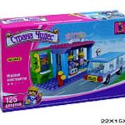 Конструктор для девочки автобусная остановка 03-1074313-fp фото