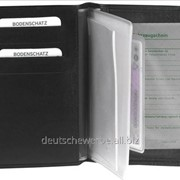 Обложка для автодокументов Bodenschatz Ausweis Etui schwarz , арт. 8-414 KN 01 фото
