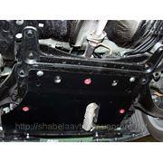 Защита картера двигателя Пежо Опель Ниссан Мицубиси Митсубиси (Щит-Шериф-Фрунзэ) фото
