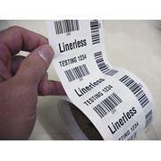 Этикетки Linerless фото