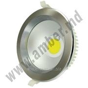 Светодиодный фонарь интерьер HL 695L 8W 4200K, матовый хром Horoz (141018) фото