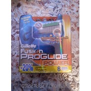 Кассеты для бритья Gillette Fusion ProGlide Power 8's фото