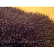 Мех одёжный коричневый ЛАМА Mongoliya soek фото