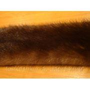 Мех натуральный норка самка коричневый фото