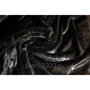 Мех искусственный норка черный фото