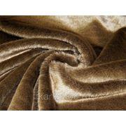 Мех искусственный норка светло-коричневый фото