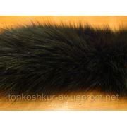 Воротник песец болотный узкий малешький фото