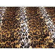 Мех искусственный леопард фото