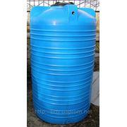 Емкость пластиковая V-2000 Бак для пищевых и химических продуктов 2000 литров фото