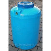 Емкость пластиковая V-100 Бак для пищевых и химических продуктов 100 литров фото