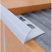 Плиточный профиль ПВХ 7 мм,8 мм,9 мм,10 мм,12 мм (Наружный) фото