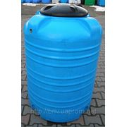 Емкость пластиковая V-500 Бак для пищевых и химических продуктов 500 литров фото