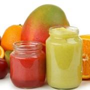 Пюре, паста, персиковое -сливабрикосовое, грушевое, яблочное, айва, тыква, вишня фото