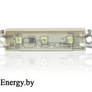 Светодиодный модуль PGM3528-3 (12V, 6000K холодный белый) фото