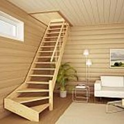 Тетива лестницы 50мм х 300мм 4,5м ель сорт АВ с сучком фото