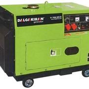 Дизельная миниэлектростанция DJ 8000 DG-ТE фото