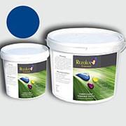 Резиновая краска для наружных работ Rezolux Universal /14 кг/ ярко-синий 5005 фото