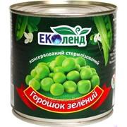 Горошек консервиваный зелёный ж/б, 425 г фото