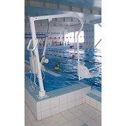 Подъемник для бассейна стационарный фото