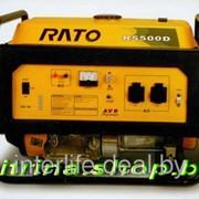Бензиновый электрогенератор RATO R5500D 5,5 кВт фото