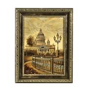 Картина из янтаря Исаакиевский собор фото