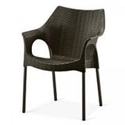 Кресло Frost XRB-066A Chocolate (55x62x84см) фото