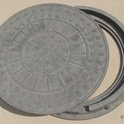 Люк канализационный до 2 тонн фото