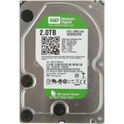 Накопитель HDD SATA 2.0TB WD Green 5400rpm 64МB ( WD20EZRX) фото