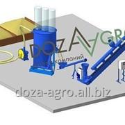 Мини заводы по приготовлению гранулированных кормов, линии гранулирования корма фото