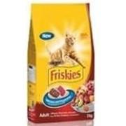 Сухой корм Friskies для кошек мясо, печень, овощи, 2 кг фото