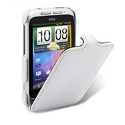 Чехол для телефона, Melkco, HTC Wildfire S/PG76110/G13, Jacka Type, O2WILSLCJT1WELC, Белый фото