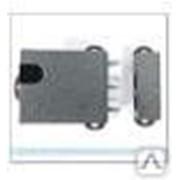Электромеханический замок Полис 11М-01 без блокировки серебро фото