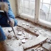 Демонтаж металлопластиковых окон фото