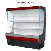 Пристенная холодильная витрина фруктовая Вилия 130 ВВ фото