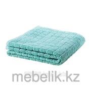 Банное полотенце зелено-синий ОФЬЕРДЕН фото