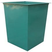 Контейнер для мусора метталический 0,75 м/куб. фото