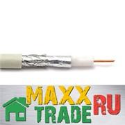 Коаксиальный кабель RG-6 U (белый) L=10м фото