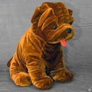 Детская мягкая игрушка шарпей Станислав фото