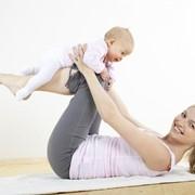 """Беби йога """"Мама+малыш"""" фото"""