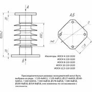 Изоляторы полимерные опорные наружной установки ИОСК 10-110-1020 фото