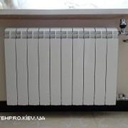 Замена радиаторов отопления металлопластиком. Без материала фото