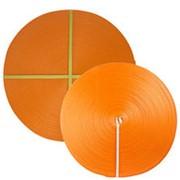 Лента текстильная для ремней 100 мм 15000 кг (оранжевый) фото
