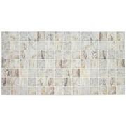 Панель ПВХ Мозаика - Мрамор венецианский, 955х480 фото