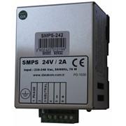 DATAKOM SMPS-242 Зарядное устройство аккумулятора на DIN-рейке (24V / 2A) фото