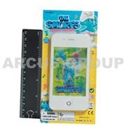 Детский телефон Смурф с голограммой фото