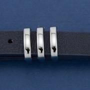 Ремень Р-15 синий, серебро фото