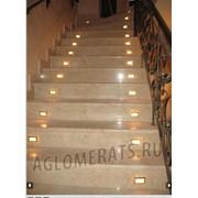 Лестницы из агломерата фото