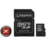 Карта памяти 32Gb microSDHC class 4 Kingston (SDC4/32GB) фото