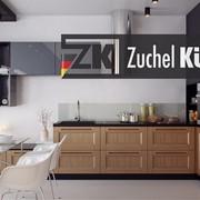 Мебель кухонная Мангейм Бургундский фото