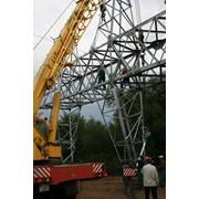 Строительство линий электропередач 110-220 КВ фото